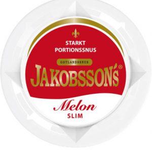 Jakobsson's melon stark snus portion snushandel snusbutiken nyköping slim portionssnus