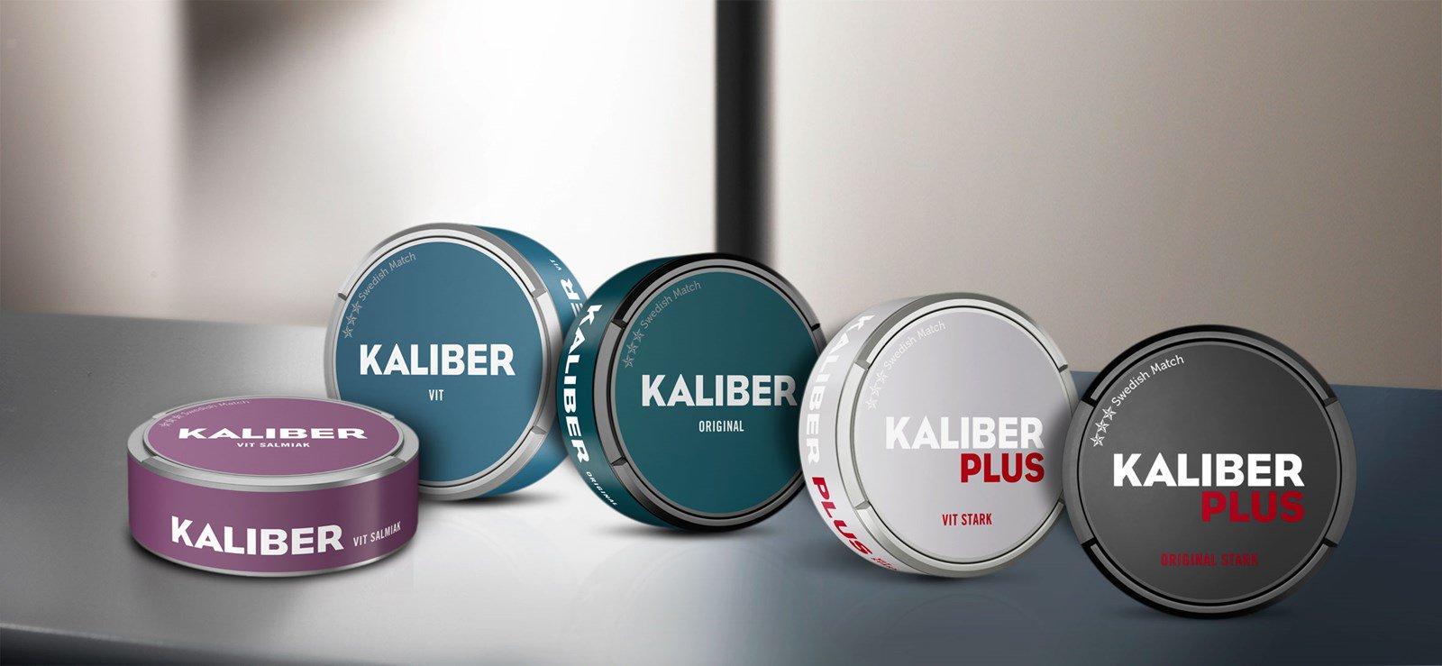 Kaliber Snus från Kaliber är ett populärt snus som sedan 2011 tillverkas av Swedish Match. Kaliber har en nära tobakssmak med inslag av såväl bergamott som andra örter och te. Smaken, kombinerad med priset, gör Kaliber till det snus som alla känner till idag. Kaliber finns som Original portion, Vit portion, Vit special, Original Portion med extra tobakssmak och Vit Salmiak. 2016 kom även Kaliber+, både som vit och original portion. Två sorter med lite mer fyllda prillor än vanliga Kaliber Vit och Portion. snushandel nyköping påljungshage köpcentrum snusbutiken tobaks tobak