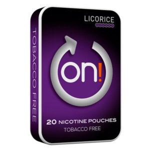 Om produkten On! Licorice 3 mg 6mg On! Licorice pure taste Ett måste för lakritsälskaren: den goda lakritssmaken och nikotinet frigörs så fort de vita, torra påsarna blivit lite fuktiga. Diskret miniformat som passar framförallt dig som inte vill att det ska kännas eller synas särskilt mycket. on! Licorice finns i två nikotinstyrkor: 3 mg och 6 mg. On! finns i tre goda smaker: Mint, Licorice och Citrus.Alla varianter hittar du här! Fakta om produkten Varumärke On! Produkttyp All white portion Styrka Normal Nikotinhalt 11 mg/g Innehåll/förpackning 6,4 g Snustyp White dry mini snus lakrits Format Mini Producent Råå S snushandel i nyköping ab påljungshage köpcentrum tobaksbutiken snus butiken tobaks affären billigt snus på nätet helvitt snus