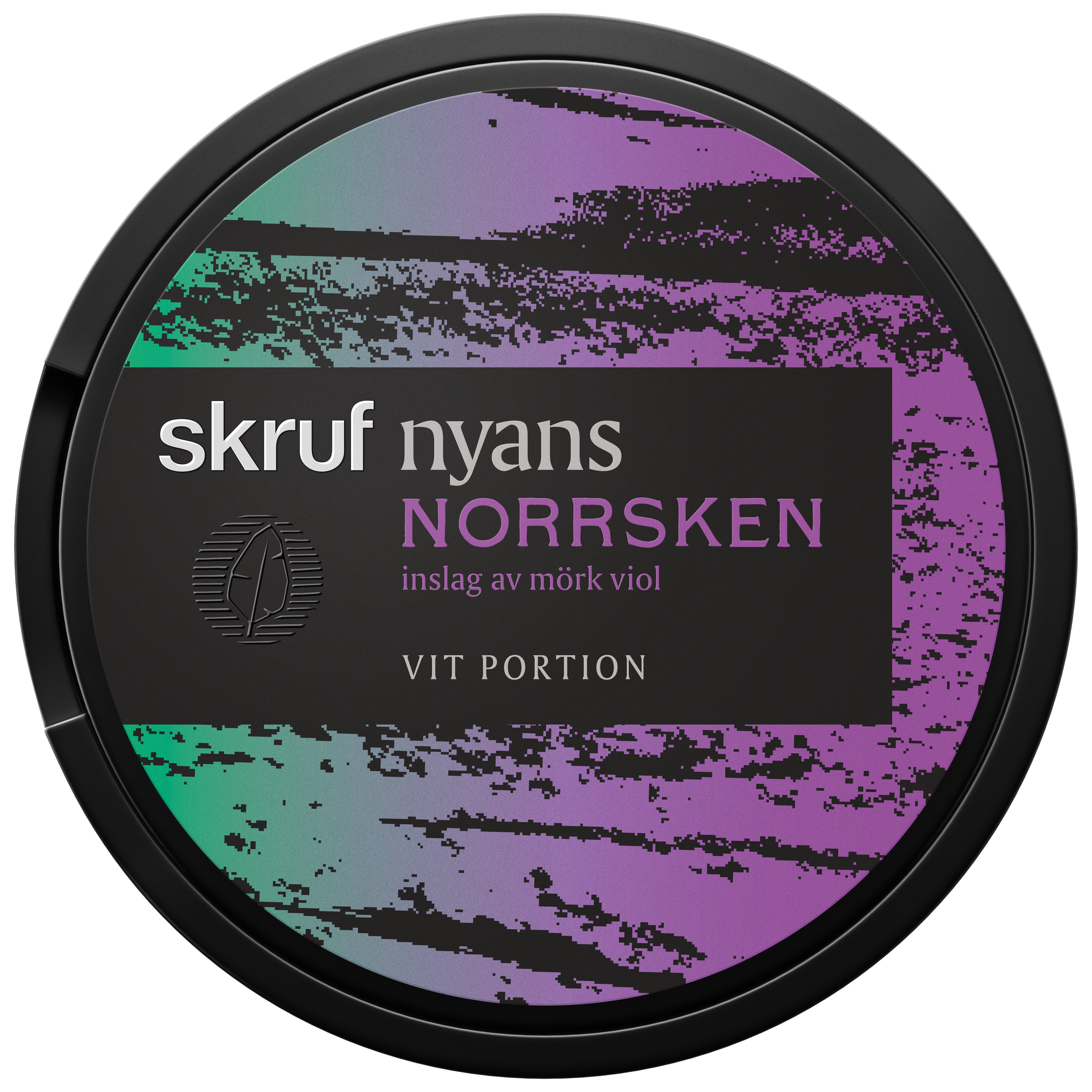 Skruf Nyans Norrsken har en smak av traditionell tobakssmak med inslag av viol och lakrits. Nyans Norrsken har normalstora white-portioner.