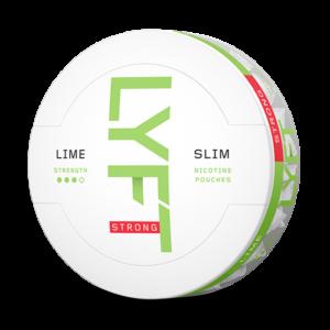 Om produkten LYFT Lime Strong Slim All White Portion LYFT Lime Strong Slim All White Portion innehåller vita, smakrika nikotinportioner utan tobak. Portionerna är tillverkade av fiber från eukalyptus och tall, med ett adderat nikotinextrakt som utvinns från tobak. Njut avdoften från saftig lime – med en intensiv effekt. Känn sötman och syran i perfekt kombination med toner av citron och rivet limeskal. Fakta om produkten Varumärke Lyft Produkttyp All white portion Styrka Starkt Nikotinhalt 14 mg/g Innehåll/förpackning 16,8 g Snustyp Slim All White Stark Format Slim Producent BAT snushandel i nyköping ab